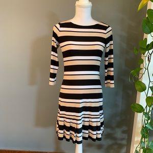 White House Black Market Striped Dress~XXS